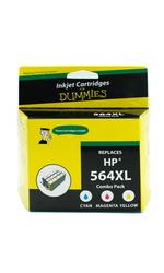 For Dummies HP 564XL Magenta/Cyan/Yellow Inkjet Cartridges