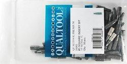 Qualtool Premium 50-Piece Size 3 Square Insert Bit