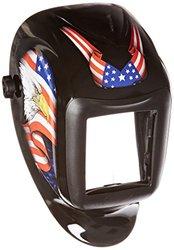 Sellstrom America Titan Nylon Lightweight Welding Helmet with Black Bezel