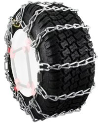 Snowblower and Lawn Tractor Tire Chains, 22X9X12, 2 Link Spacing