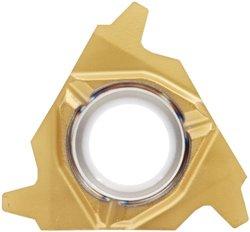 Sandvik Coromant 266RG-16TR01F300E 1135 PVD Coated Solid Carbide CoroThread 266 Threading Insert, Trapezoidal Thread, 3 (Pack of 2)