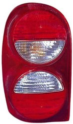 Depo 333-1932L-US-CR Jeep Liberty Driver Side Replacement Taillight Unit without Bulb
