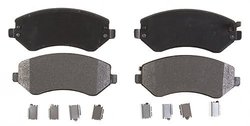 Raybestos PGD856M Professional Grade Semi-Metallic Disc Brake Pad Set