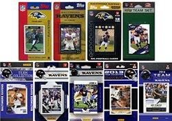 NFL Baltimore Ravens Licensed Trading Card Team Set