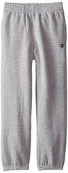 Champion Big Boys' Jogger Pant with Loose Cinched Cuffs, Oxford Heather, Large