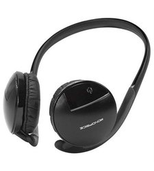 Monoprice Bluetooth Wireless Stereo Headset - Black (108582)