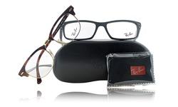 Ray-ban Unisex Optical Frame Rx6317 - 2834 Ruthenium/Gunmetal Frame