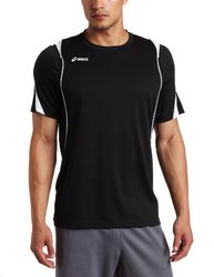 ASICS Men's Crusher Jersey - Black/White - Size: Medium