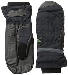 Ibex Unisex Outdoor Clothing Wool Aire Mitten - Black - X-Small