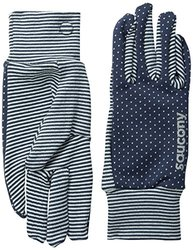 Saucony Women's Swift Gloves - Midnight/Morning Dew -Size: Large (SA90501)