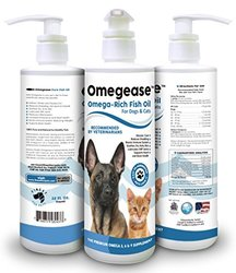 Omegease 100% Pure Omega-Rich Fish Oil for Dogs and Cats