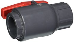 Spears 2132-010 PVC Schedule 80 Compact Ball Valves