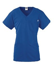 Medline Berkeley AVE. Women Scrub Top -Royal Blue - Size: 3XL
