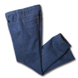 Workrite 418ID14DN40-36 Flame Resistant 14 oz Indura Jean-Cut Pant, 40 Waist Size, 36 Inseam, Denim