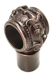 Carpe Diem Hardware 595-22 Charlemagne Decorative Center Brace, Oil Rub Bronze