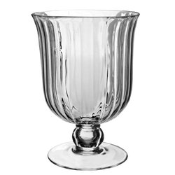 "Syndicate Sales 12 1/2"" Amelia Vase, Clear"