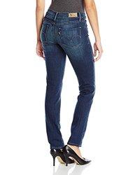 Levi's Mid Rise Skinny Haiku Jeans - Blue - Size: 10x30