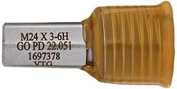 Vermont Gage 302151510 M24.0-3.00 6H Go Taperlock Gage