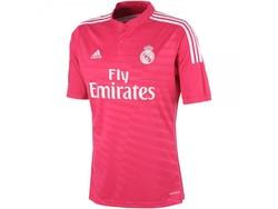 Adidas Real Madrid Away 2014/15 Youth Football Shirt - Pink - Size: XL