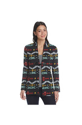 Oneworld  Printed Cardigan Black