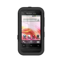 Trident Case Aegis Series for Alcatel One Touch 918A - Retail Packaging - Black