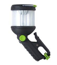 Blackfire BBM910 Clamp Light 230-Lumen 3AA LED 4-mode Dual Flashlight / Lantern, Black/Green