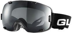 GLX Adult AMB-98 Snow Goggles (Matte Black Frame / Black Iridium Lens)