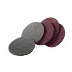 "Abrasive Discs, Non-Woven, 5"" Hook and Loop, Maroon"