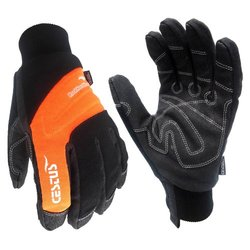 Cestus Temp Series RockHard Winter Insulated Work Gloves - Black - Sz: 2XL