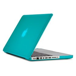 "Speck - SeeThru Case for 13"" Apple  MacBook  Pro - Calypse blue"