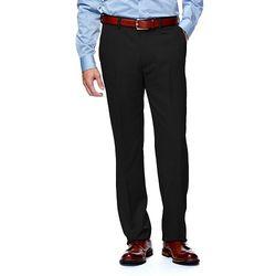 Haggar Men's Straight Front Dress Pant - Black - Size: 38x30