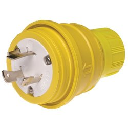 Woodhead 20-Amp 277V 3-Wire 2-Pole Watertite Wet Location Blade Plug