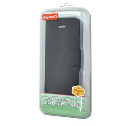 Seglandis Leather Case for iPhone 5 - Black (SD-PH061C)