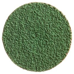 "Merit ZIRC Plus Abrasive Disc, Cloth Backing, Type III, Zirconia Alumina, 1-1/2"" Diameter, Grit 60  (Box of 25)"