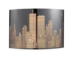 ELK Skyline 2-Light Sconce in Polished Stainless Steel