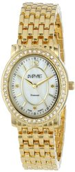 Ladies' Diamond Bracelet Watch: Gold Tone Band [ASGP8043YG]
