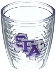 Tervis 12 oz Stephen F. Austin University Emblem Tumbler - 4 Set - Clear