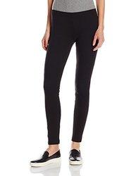 HUE Women's Stretch Cotton Leggings - Black - Size: Large