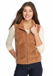 Self Esteem Women's Woobie Vest - Indian Tan - Size: XL