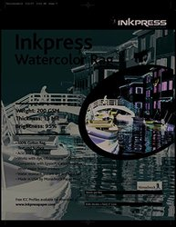 INKPRESS MEDIA 200 GSM, 15 Mil, 95 Percent Bright, Single Sided Photo Paper (#LT111425)