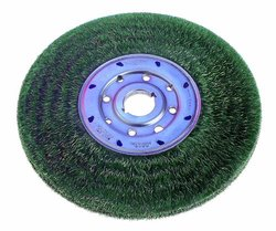 "Osborn 6"" Standard Duty TY Encapsulated Narrow Face Wheel Brush"