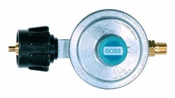 """Goss T-Block Inlet Low Pressure Propane Regulator with 3/8"""" Flare Outlet"""