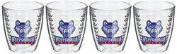 Tervis West Georgia University Emblem Tumbler (Set of 4), 12 oz, Clear