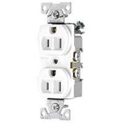 Cooper Wiring Devices 15Amp 3-Wire 125V Duplex Receptacle - Pack of 6