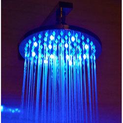 Alfi 8-inch Round Multi Color LED Rain Shower Head (LED5002)