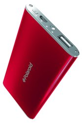 Polaroid External Battery Pack for All Smartphones - Red (PPP520RD)