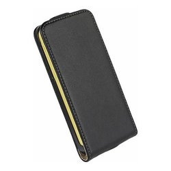 C&E iPhone 5C Vertical Flip Case - Black