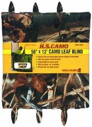 """Hunters Specialties 56"""" x 12' Camo Leaf Blind - Advantage Max-4 HD"""