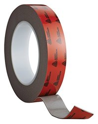 Avery Dennison AFB 6612G Double Sided Acrylic Foam Tape, Grey, 108 ft x 0.5 in, 47.2 mils Thick