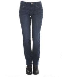 Levi's Women's 505 Straight Leg Jeans - Blue - Size: 32/14 Short